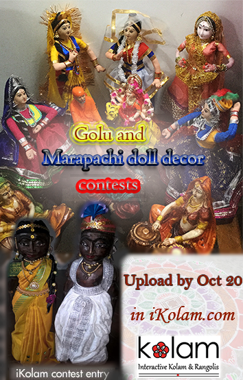 Navaratri Golu contest - Navaratri Golu and Marapachi doll decor contest 2018 announcement