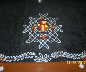 Rangoli: Rangoli on Boghi