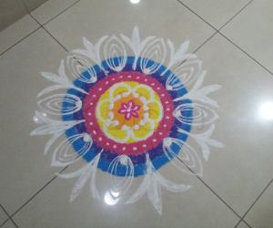 My Diwali Kolam