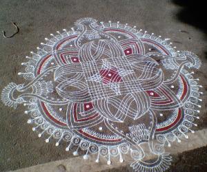 Rangoli: kanyakolam