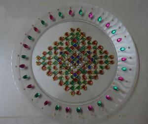 Rangoli: Glitter Rangoli