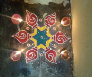 Rangoli: HAPPY DIPAWALI