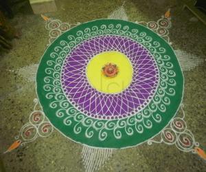 Rangoli: SONAL RAVI