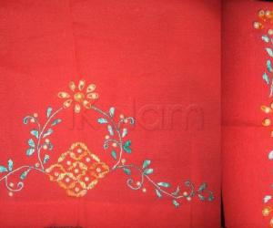 Rangoli: Bead embroidery