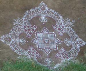 Rangoli: Aadi friday special !