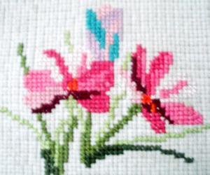 Rangoli: Cross Stitch Embroidery