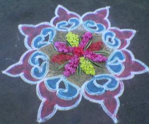Rangoli: Kolam 1