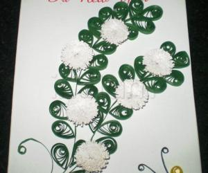 Rangoli: New year card