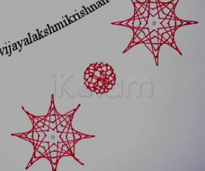 Rangoli: stitching cards