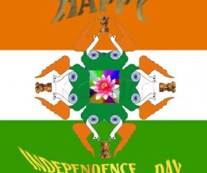 Rangoli: HAPPY INDEPENDENCE DAY