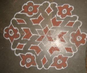 Rangoli: Dhanteras - morning