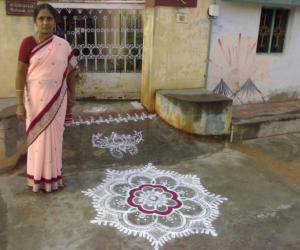 Rangoli: Sivarathri