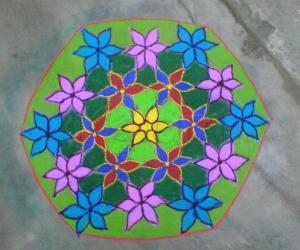 Rangoli: FLORAL WISHES