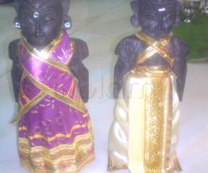 "Rangoli: ""Golu marapachi doll""."
