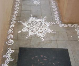 Rangoli: vinayaga chathurthi special
