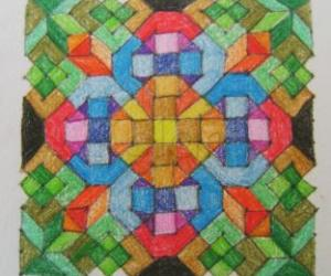 Stained Glass Kolam