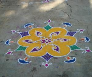Deepavali Rangoli 3