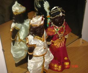 Rangoli: Marapaachi dolls for Golu