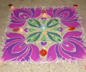 Diwali Rangoli -- 2009