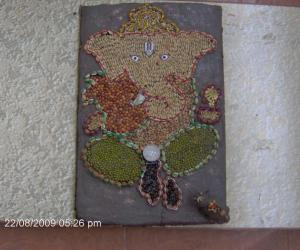 Rangoli: My Ganesha