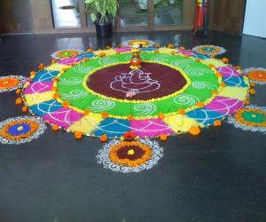 Free Art Rangoli