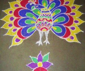 Rangoli: Diwali Rangoli - 2009