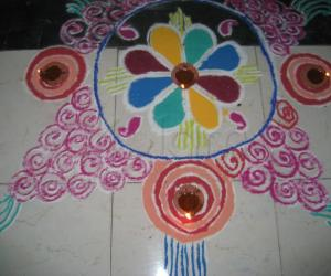 Diwali Kolams