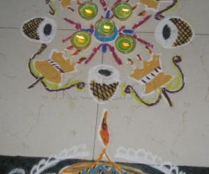 Rangoli: Kartikai Kolam