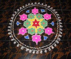 Margazhi rangoli