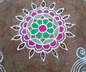 Rangoli: yet another inspirational kolam