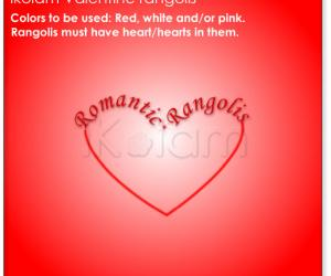 Romantic Rangolis