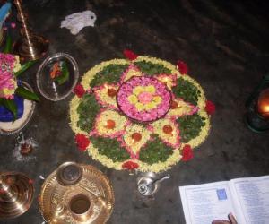 Rangoli: navarathri special