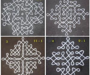 Advanced Chikku Kolams
