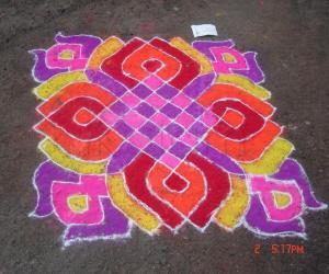 Rangoli: colourful