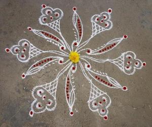 Simple Kolam