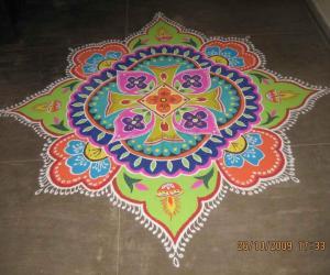 Diwali Rangoli - Contest - 2009