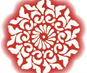 Rangoli: Mehandi Tatto Rangoli