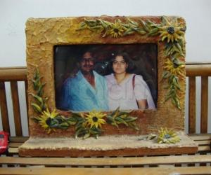 Rangoli: Photo frame