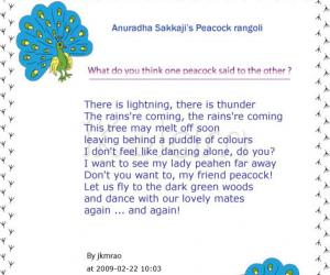Rangoli: Poetic