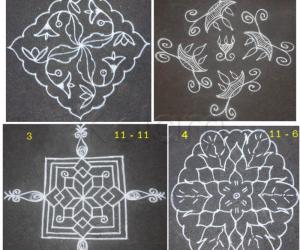Rangoli: Advanced pookolams