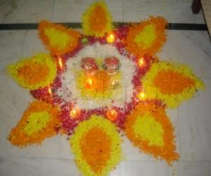 rangoli for diwali competition