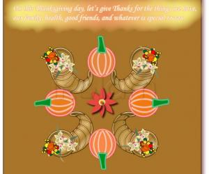 Rangoli: Happy Thanksgiving! rangoli