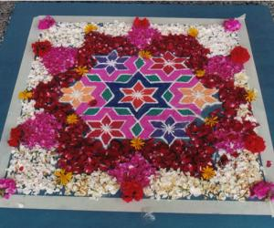 Rangoli: kolam entry - 1