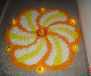 pookalam for diwali rangoli contest