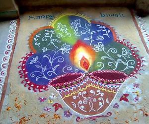 Diwali rangoli contest