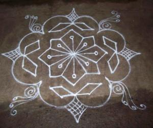Favourate kolam