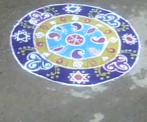 Tamil New year - Rangoli