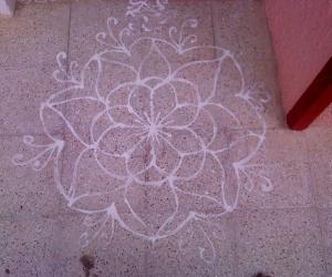 Varalakshmi Mavu Kolam