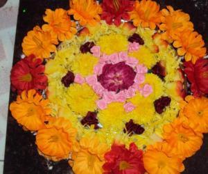 Rangoli: Golu Kolam - II