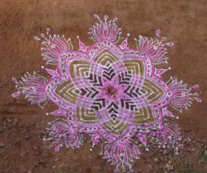Rangoli: tamil new year special